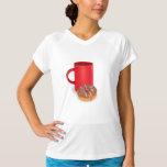 Coffee And Doughnut Shirts