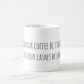 Coffee and Eyelash Coffee Mug