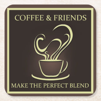 Coffee and Friends Coaster