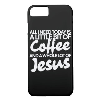 Coffee and Jesus iPhone 8/7 Case