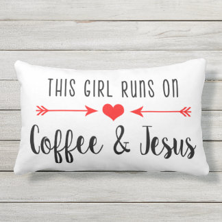 Coffee and Jesus | Southern Girl Pillow