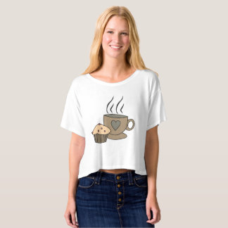 Coffee and Muffin Sweet T-shirt