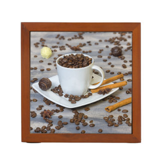 Coffee and spices desk organizer