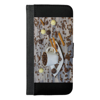 Coffee and spices iPhone 6/6s plus wallet case