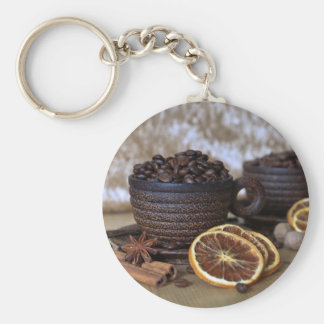 Coffee and Spices Keychain