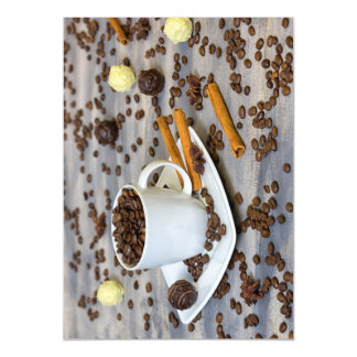 Coffee and spices magnetic card