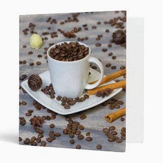 Coffee and spices vinyl binders