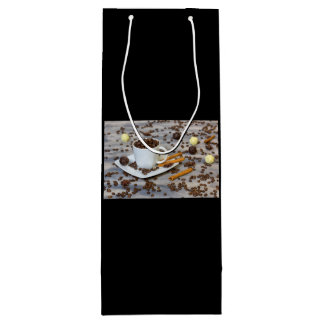 Coffee and spices wine gift bag
