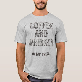 COFFEE AND WHISKEY T-Shirt