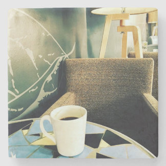Coffee and you stone coaster