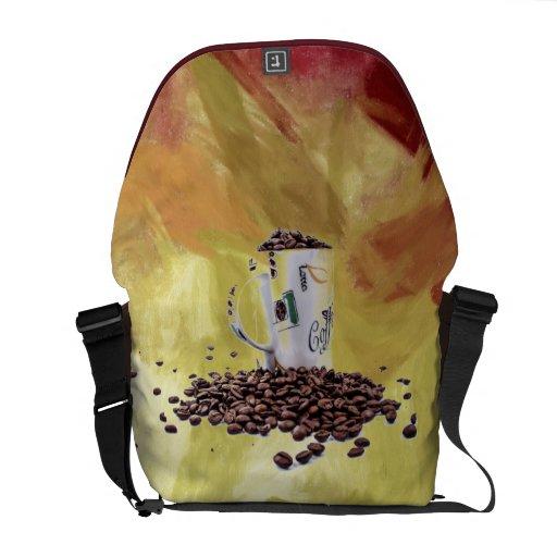 Coffee Aroma Courier Bag
