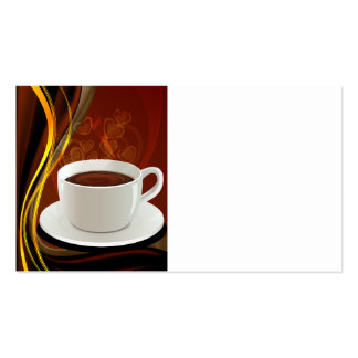 Coffee Art Cafe Pack Of Standard Business Cards