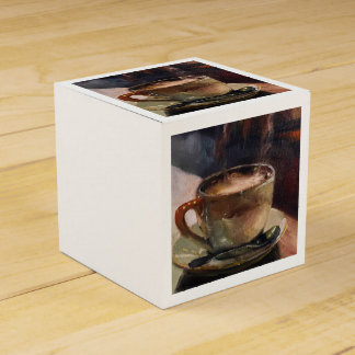 Coffee Art Party Favor Box