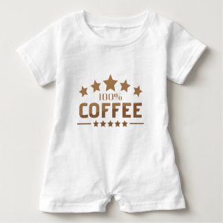 coffee baby romper