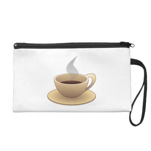 Coffee Wristlet Purse