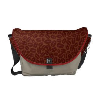 Coffee Bag - Coffee Beans Texture Messenger Bags