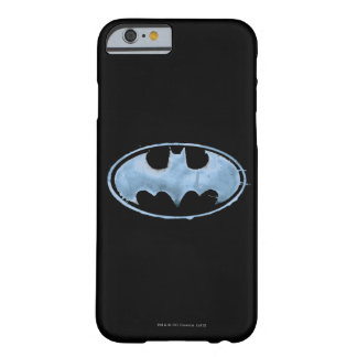 Coffee Bat Symbol - Blue Barely There iPhone 6 Case