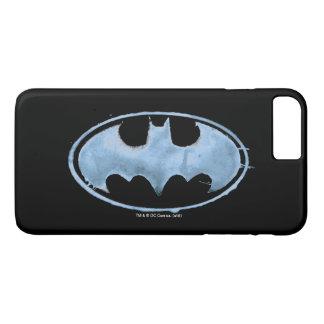 Coffee Bat Symbol - Blue iPhone 7 Plus Case