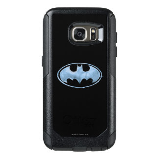 Coffee Bat Symbol - Blue OtterBox Samsung Galaxy S7 Case