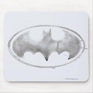 Coffee Bat Symbol - Gray Mousepad