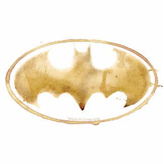 Coffee Bat Symbol Photo Sculpture