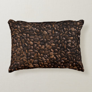 Coffee Bean Accent Pillow
