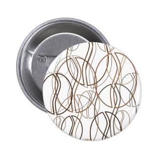 coffee bean blur 2 inch round button