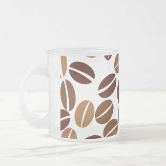 Coffee Bean - Classic White Frosted Mug