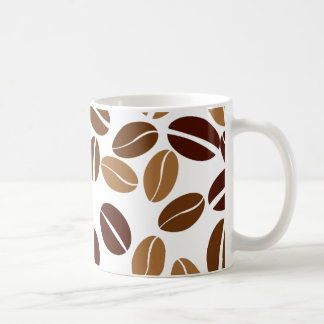 Coffee Bean - Classic White Mug