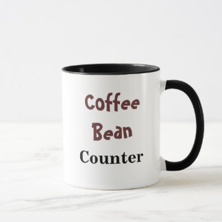 Coffee Bean Counter - Nickname Mug