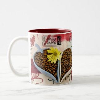 Coffee Bean Lovers Mug