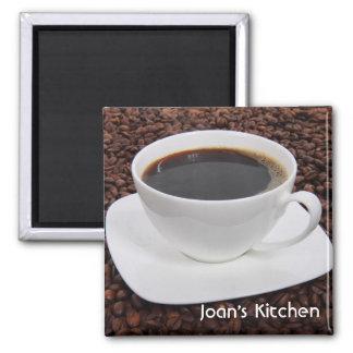 Coffee Bean Mug Magnet