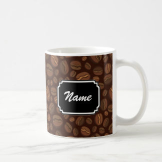 Coffee Bean Personalized Mug