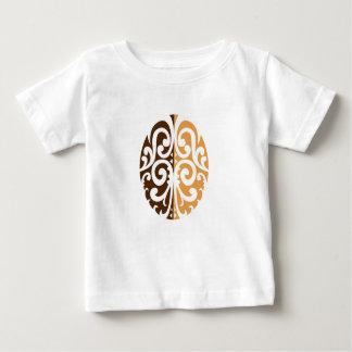 Coffee Bean with Maori Motif Baby T-Shirt