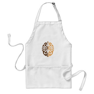 Coffee Bean with Maori Motif Standard Apron