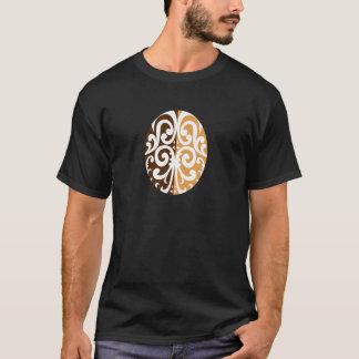 Coffee Bean with Maori Motif T-Shirt