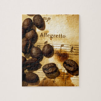 Coffee Beans and Music Notes Puzzles