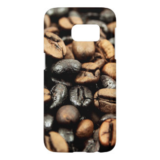 Coffee Beans Background Samsung Galaxy S7 Case