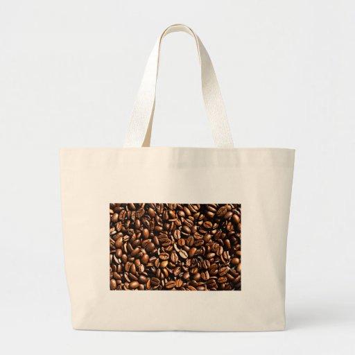 Coffee beans canvas bags