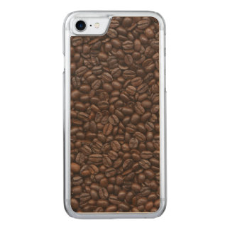 Coffee Beans Carved iPhone 7 Case