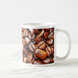 Coffee beans design coffee mug
