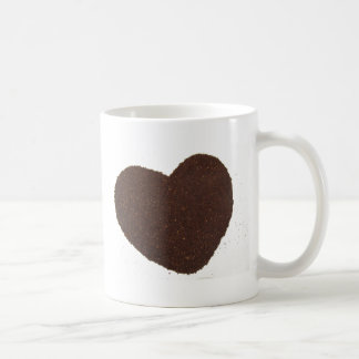 Coffee Beans, Grounded, Mug Love