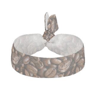 coffee beans hair tie