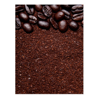 Coffee Beans - Java Bean Customized Templates Postcard