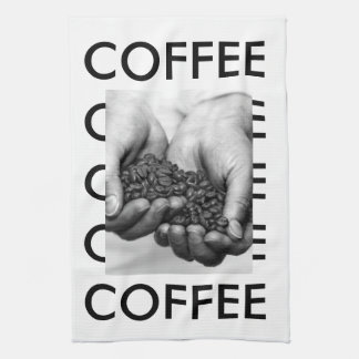 Coffee Beans Kitchen Towel