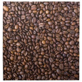 Coffee beans! napkin