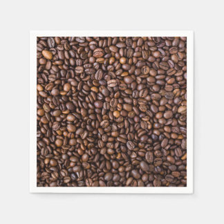 Coffee beans! paper napkins