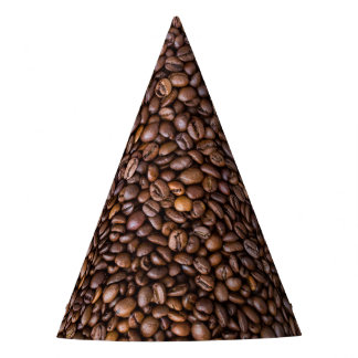 Coffee beans! party hat