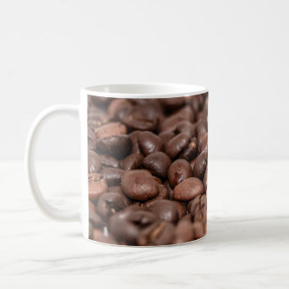Coffee beans photo mug