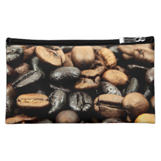 Coffee Beans Photography Cosmetic Bags
